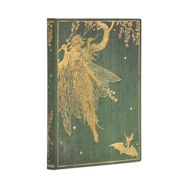 Anteckningsbok Paperblanks Mini olinjerad - Olive Fairy 1
