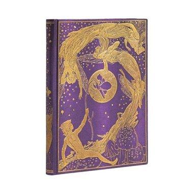 Anteckningsbok Paperblanks Midi linj Violet Fairy 1