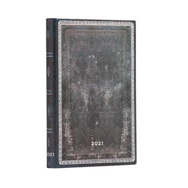 Kalender 2021 Paperblanks Mini Midnight Steel 1