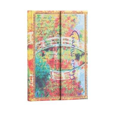 Kalender 2021 Paperblanks Mini Monet (Bridge), Letter to Morisot 1