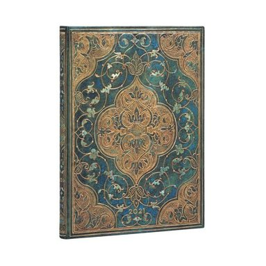 Kalender 2021 Paperblanks Ultra Turquoise Chronicles 1