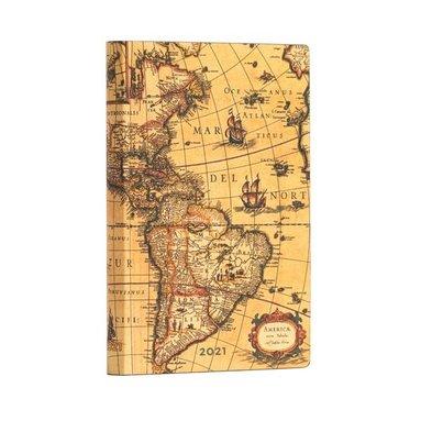 Kalender 2021 Paperblanks Mini Flexi Western Hemisphere 1