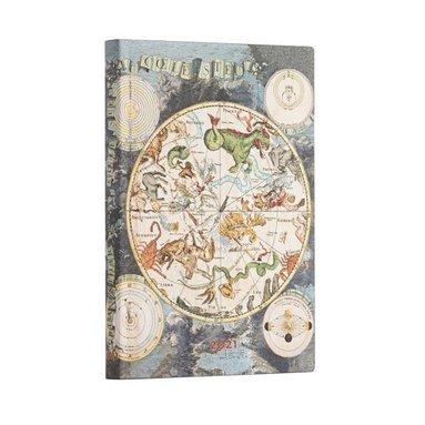 Kalender 2021 Paperblanks Midi Flexi Celestial Planisphere 1