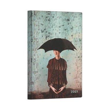 Kalender 2021 Paperblanks Midi Flexi Wordscapes 1