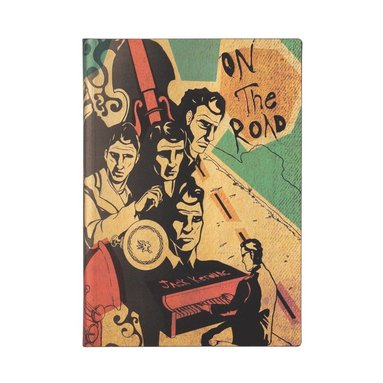 Anteckningsbok Paperblanks Flexi Midi - Jack Kerouac : On the road 1