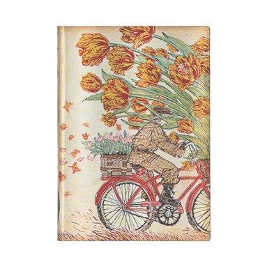 Anteckningsbok Paperblanks Flexi Midi - Holland Spring 1