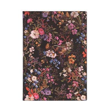 Anteckningsbok Paperblanks Flexi Midi - Floralia 1