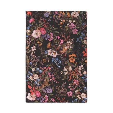 Anteckningsbok Paperblanks Flexi Mini - Floralia 1