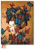 bokomslag Madame Butterfly 18-Monatskalender Flexi 2022 Ultra Vertikal