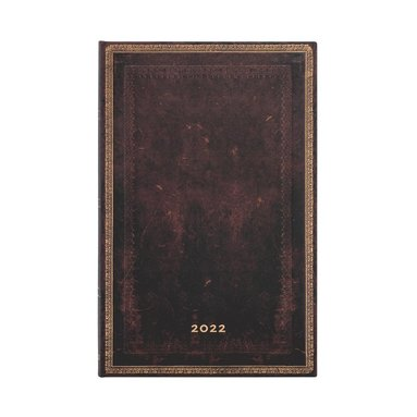 Kalender 2022 Paperblanks Maxi vert - Black Moroccan 1