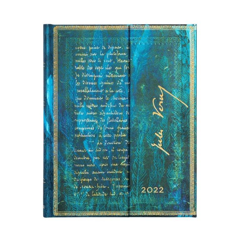 Kalender 2022 Paperblanks Ultra - Jules Verne : Twenty Thousand Leagues 1