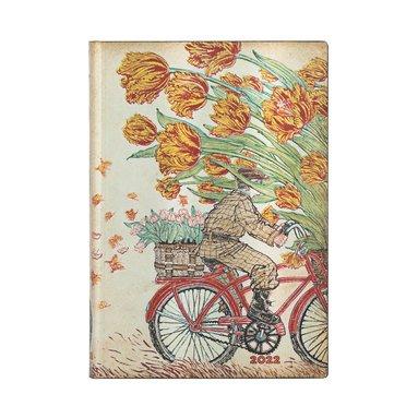 Kalender 2022 Paperblanks Midi Flexi - Holland Spring 1