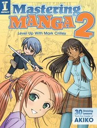 bokomslag Mastering manga 2 - level up with mark crilley