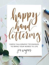 bokomslag Happy Hand Lettering