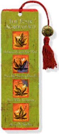 bokomslag The Four Agreements Beaded Bookmark