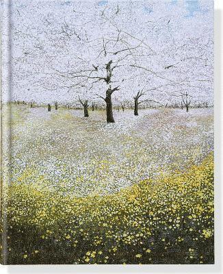 Anteckningsbok 23x18,5cm linjerad Trees In Bloom