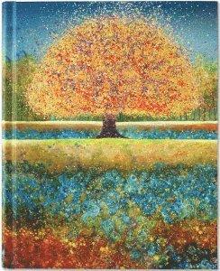 Anteckningsbok 23x19cm linjerad Tree of Dreams 1