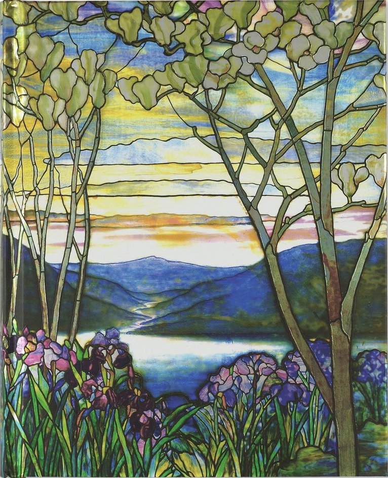 Anteckningsbok 23x19cm linjerad Tiffany Window 1