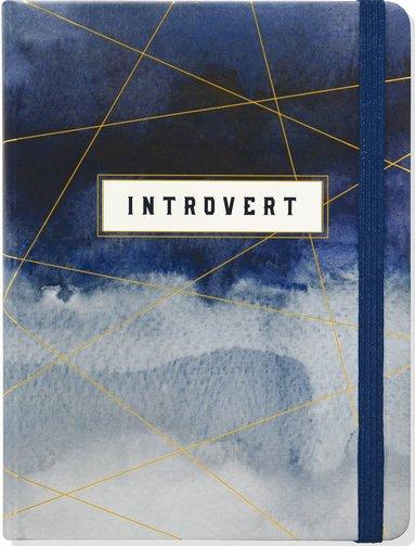 Anteckningsbok A5 linjerad The Introvert's Journal 1