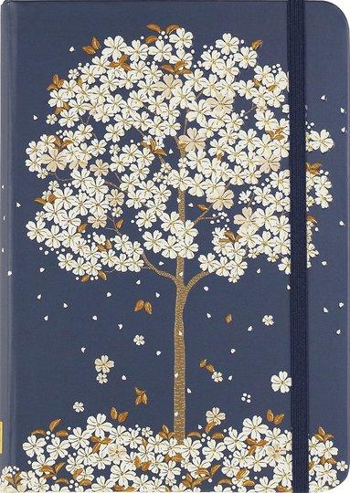 Anteckningsbok 18x13cm linjerad Falling Blossoms 1