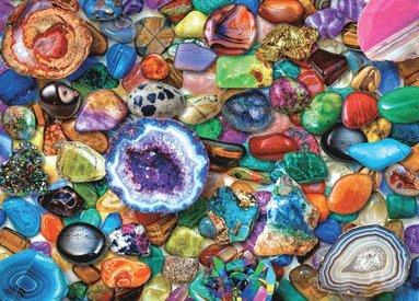 Pussel 1000 bitar Crystals and Gemstones