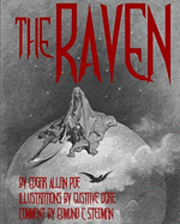bokomslag The Raven: Illustrated Cool Collectors Edition Printed in Calligraphy Fonts
