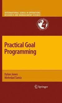 bokomslag Practical Goal Programming