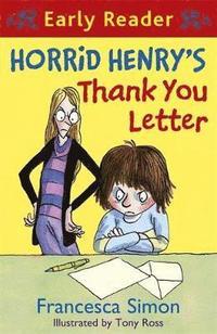 Horrid Henry's Thank You Letter