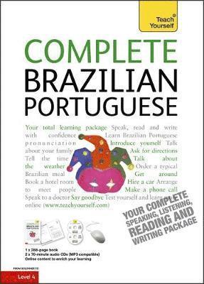 bokomslag Complete Brazilian Portuguese Beginner to Intermediate Cours
