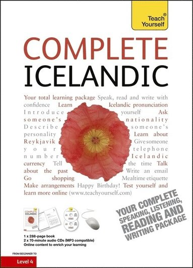 bokomslag Complete Icelandic Beginner to Intermediate Book and Audio Course