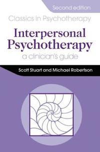 bokomslag Interpersonal Psychotherapy 2E                                        A Clinician's Guide