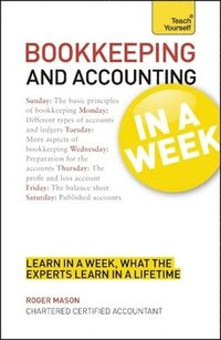 bokomslag Bookkeeping and accounting in a week - learn to keep books and accounts in