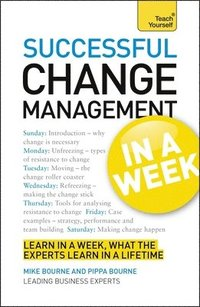 bokomslag Successful Change Management in a Week a Teach Yourself Guide