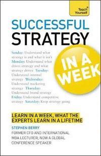 bokomslag Successful Strategy in a Week
