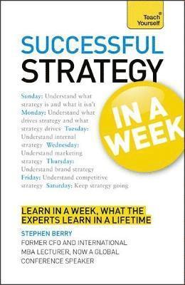 bokomslag Strategy In A Week