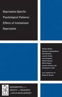 bokomslag Deprivation-Specific Psychological Patterns