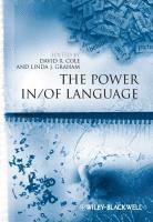 bokomslag The Power In / Of Language