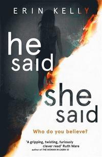 bokomslag He Said/She Said