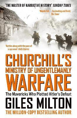 bokomslag Churchill's Ministry of Ungentlemanly Warfare