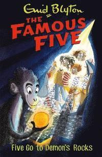 bokomslag Famous five: five go to demons rocks - book 19