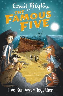 bokomslag Famous five: five run away together - book 3