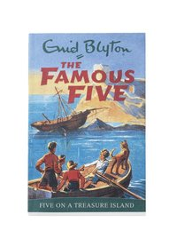 bokomslag Famous Five On A Treasure Island