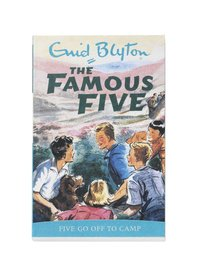 bokomslag Famous Five Go Off To Camp