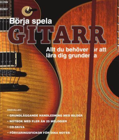 bokomslag Börja spela gitarr