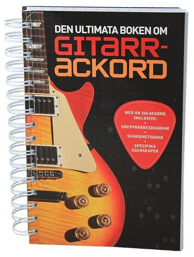 bokomslag Den ultimata boken om gitarrackord