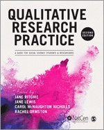 bokomslag Qualitative research practice - a guide for social science students and res