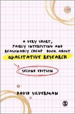 bokomslag A Very Short, Fairly Interesting and Reasonably Cheap Book about Qualitative Research