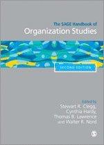Sage handbook of organization studies 1