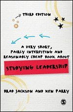 bokomslag AVery Short, Fairly Interesting and Reasonably Cheap Book about Studying Leadership