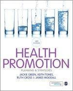 bokomslag Health promotion - planning & strategies